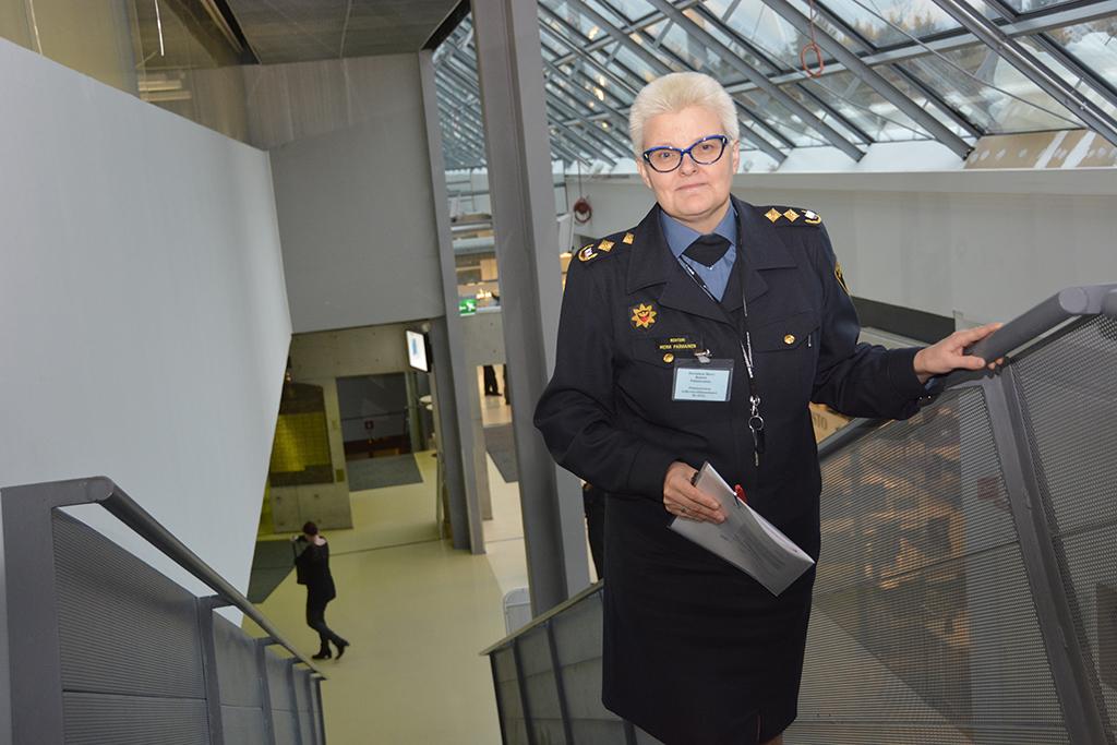 Pelastusopiston rehtori Mervi Parviainen.