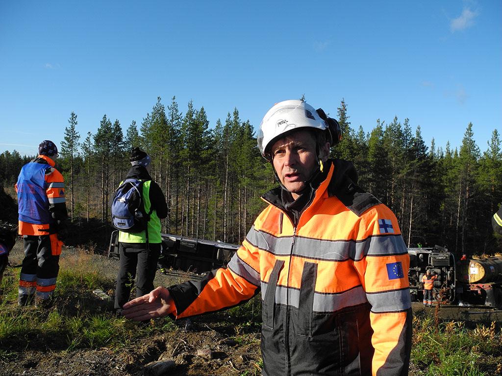 Raimo Rasijeff oli mukana työryhmässä suunnittelemassa Barents-harjoituksen onnettomuuksia.
