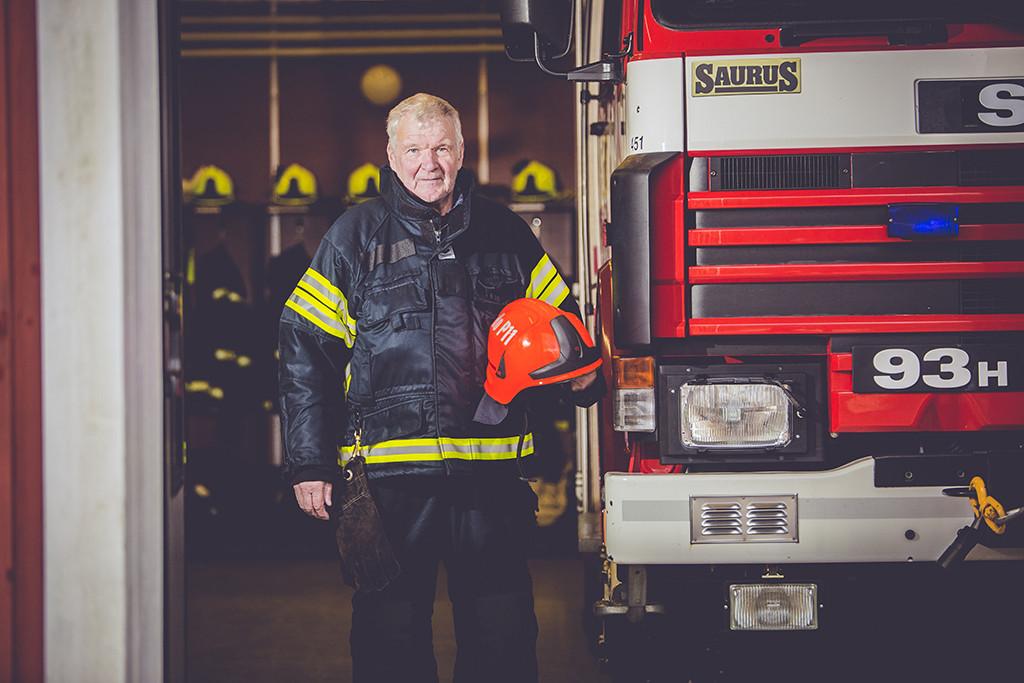 Lonkkavaivoja lukuunottamatta 70-vuotias Christer Friis on pysynyt kunnossa.