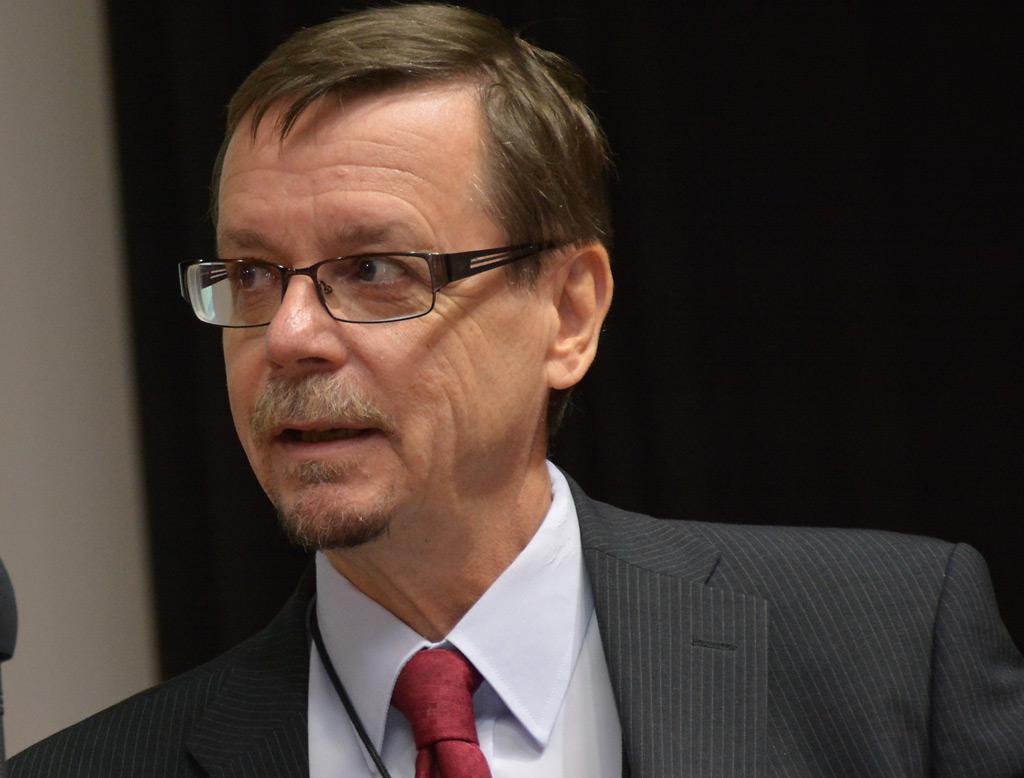 Pelastusylijohtaja Esko Koskinen.