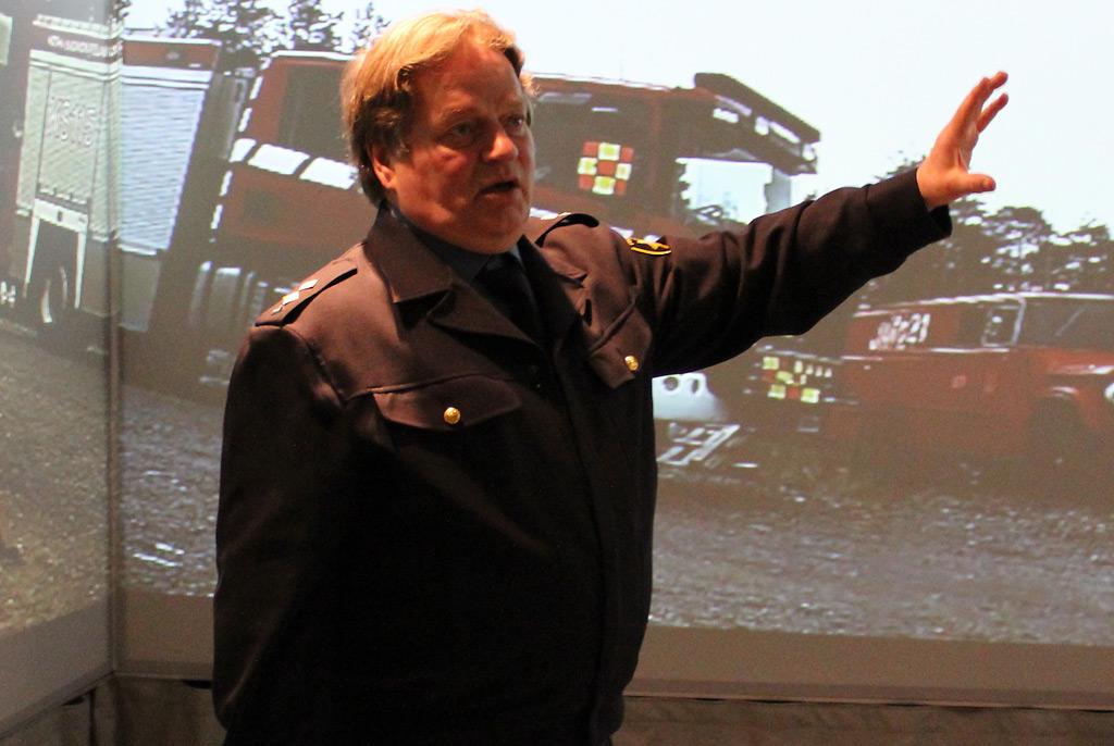 Koulutusmestari Reijo Hirven mukaan uusi järjestelmä on loistava esimerkki pelastustoimen ja yrityksen kehitystyöstä.