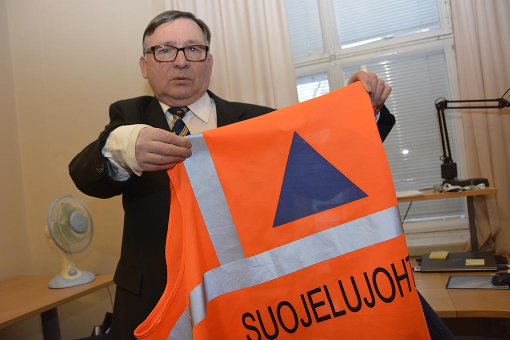 Rakennusneuvos Pekka Rajajärvi toimii asiantuntijana tilaisuuksissa.
