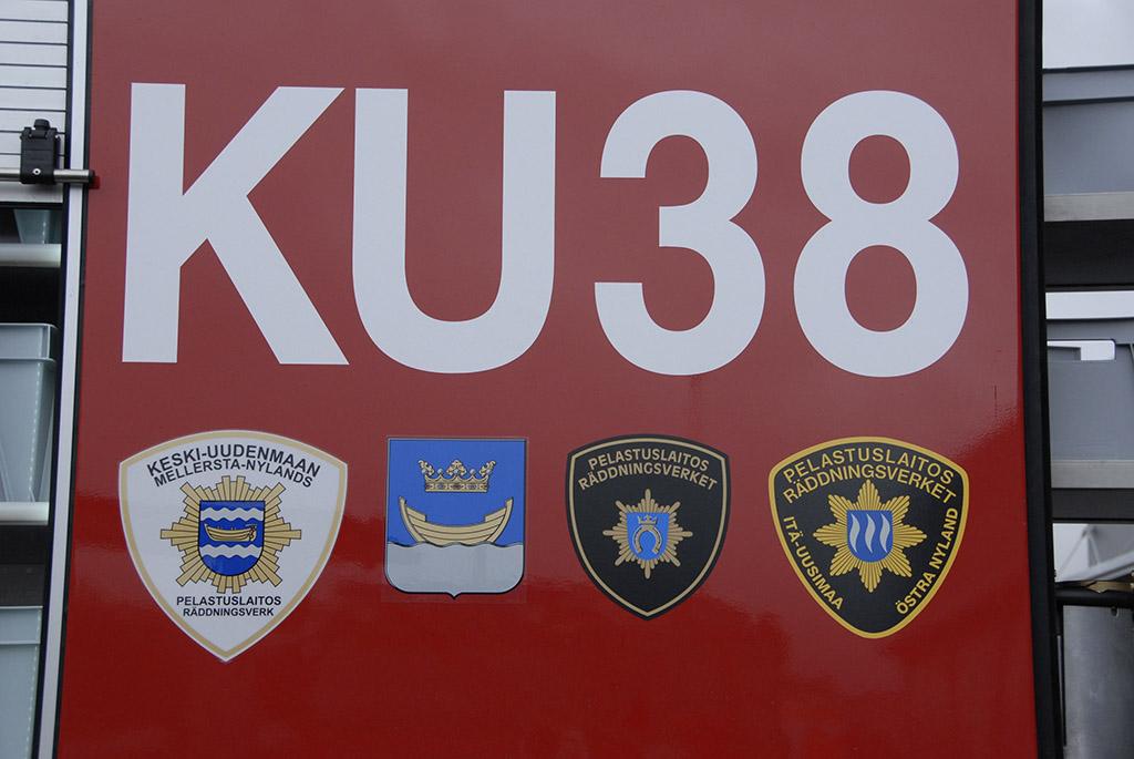 Uudenmaan neljä pelastuslaitosta yhdistyvät.