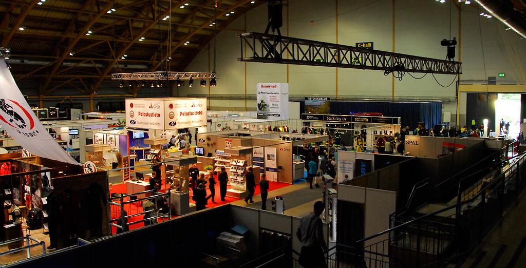 Turvallisuusmessut järjestettiin edellisen kerran Tampereella vuonna 2012.
