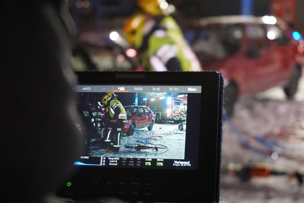 Videoita kuvattiin Pirkanmaan pelastuslaitoksella.