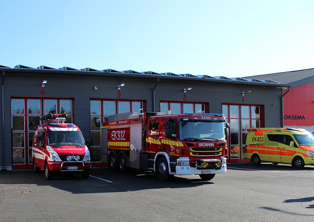 Henkilöstön työtyytyväisyys on lisääntynyt ja palomiesten pitäminen työkuntoisena on aiempaa helpompaa.