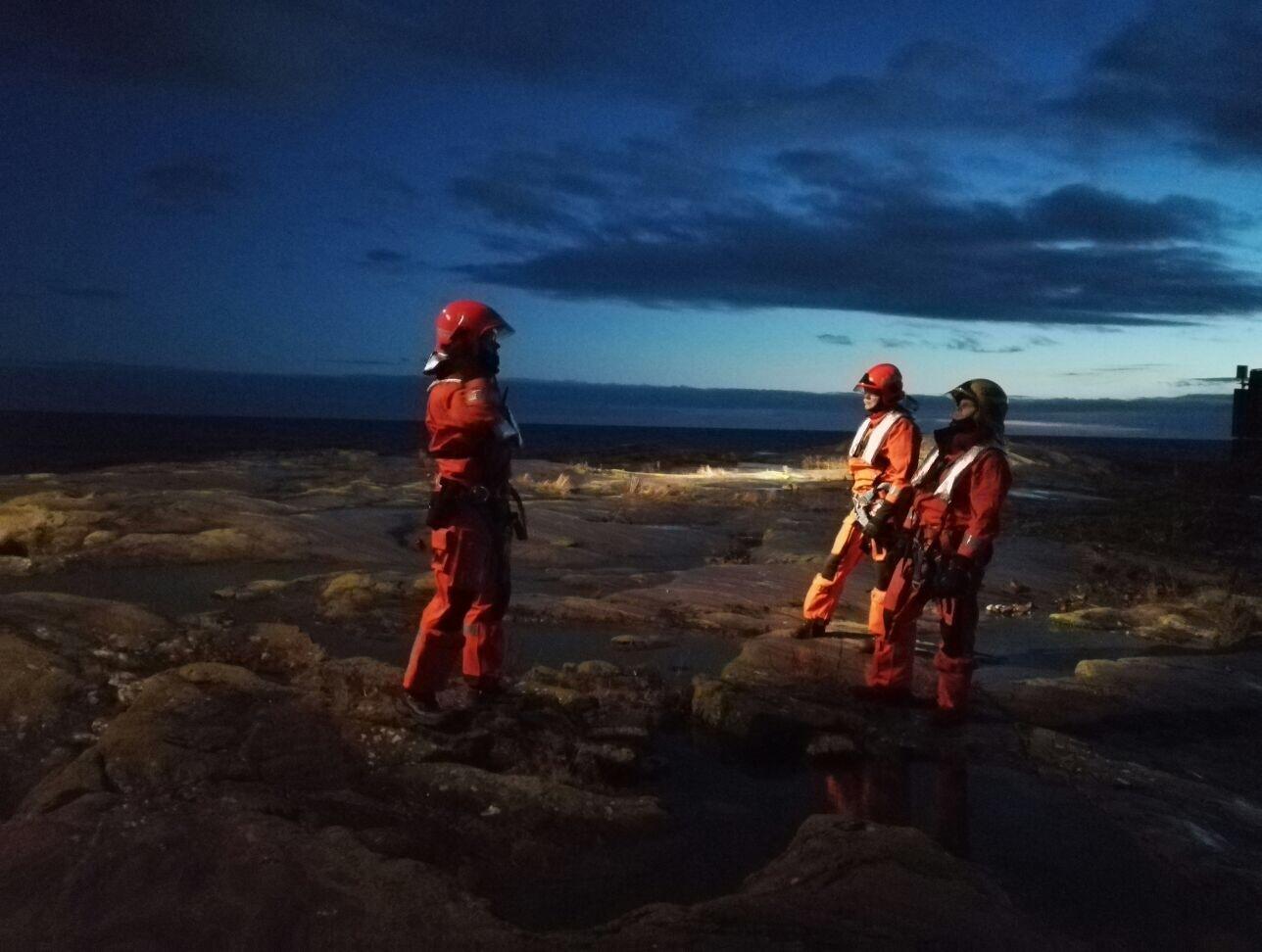 Tämäkin kuva löytyy Helsinki Firefighters-tililtä.