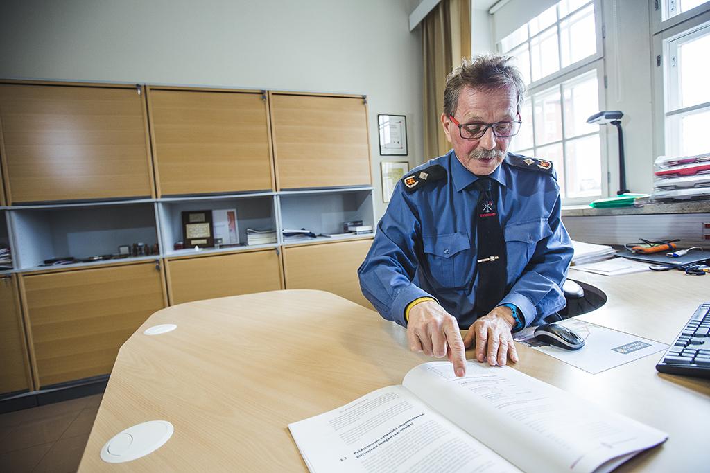 Seppo Männikkö jäi eläkkeelle heinäkuun alussa, ja 38 vuoden ura pelastuslaitoksella loppui.