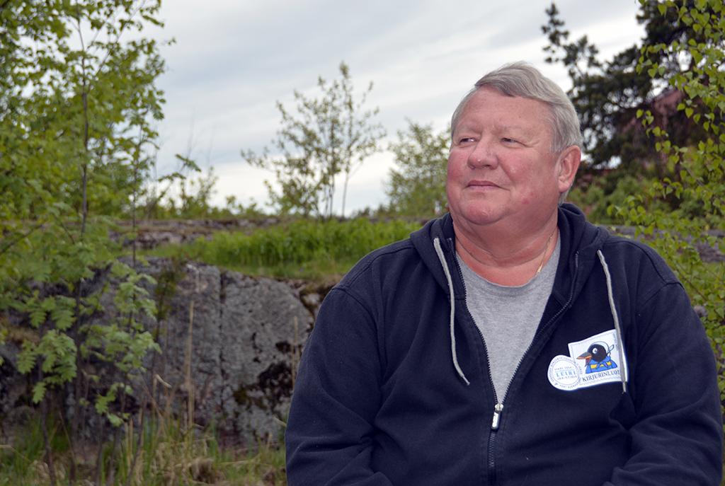 Eläkkeelle jääminen oli Risto Vesalaiselle kova paikka, mutta aktiivinen järjestötoiminta on tuonut hänen elämäänsä sisältöä.