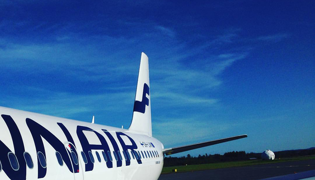 Finnarin suora lento lähti terminaalista 2.