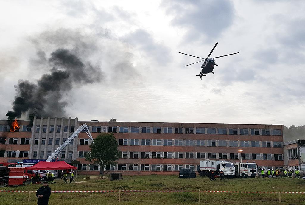 Barents oli jaettu neljään onnettomuusskenaarioon.