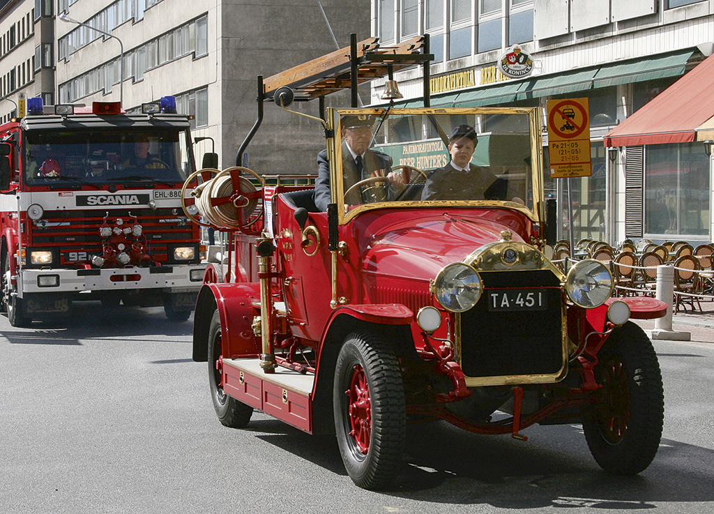 Voittajaksi selvisi Porin VPK:n Benz Gaggenau vuodelta 1921.
