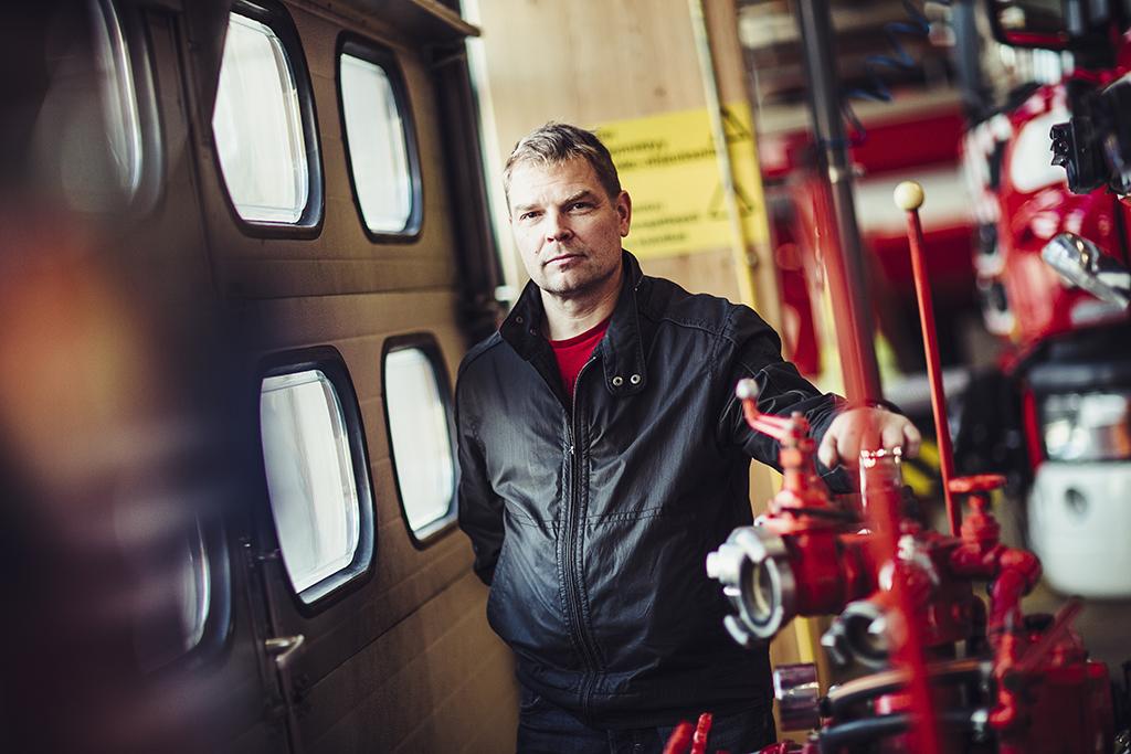 Ylipalomies, luottamusmies Vesa Olkkonen arvioi, että mikään ei ole muuttunut.