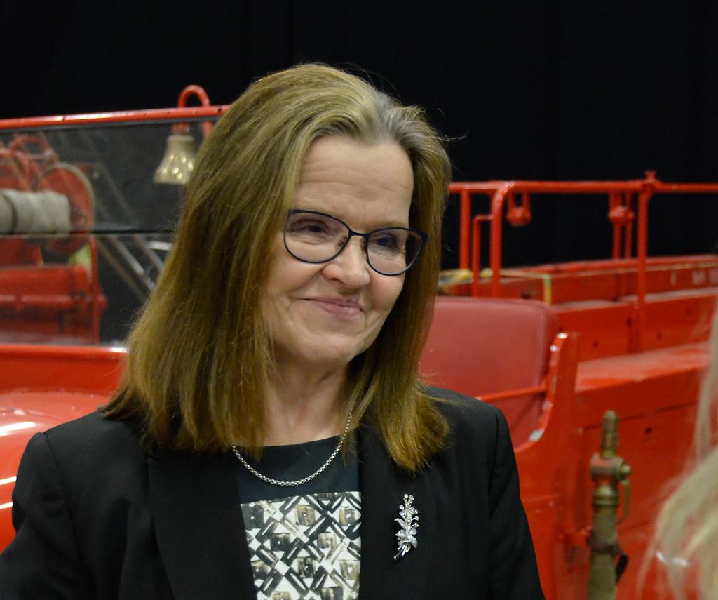 Kansliapäällikkö Päivi Nerg toimi vuodesta 2012 alkaen sisäministeriössä ja siirtyy vuoden alussa valtiovarainministeriöön alivaltiosihteeriksi.