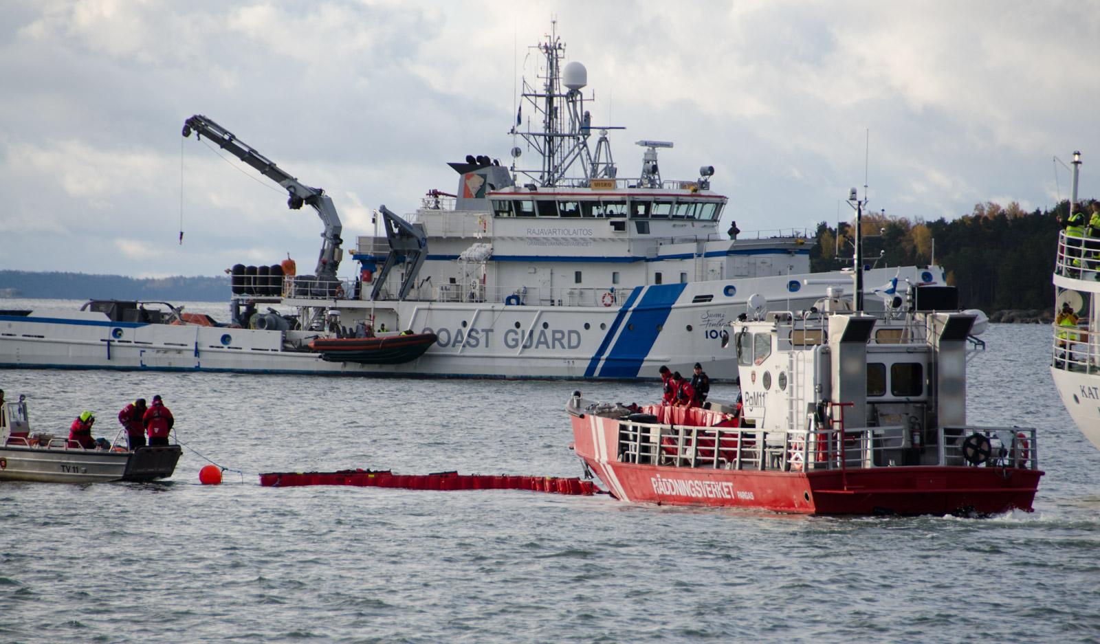 Hazard-hanke tähtää parantamaan turvallisuutta Itämeren alueen satamissa. Lokakuussa järjestettiin siihen liittyvä mittava suuronnettomuusharjoitus Neste 2017 Naantalin satamassa. Tämä oli hankkeen jo kuudes isompi harjoitus.