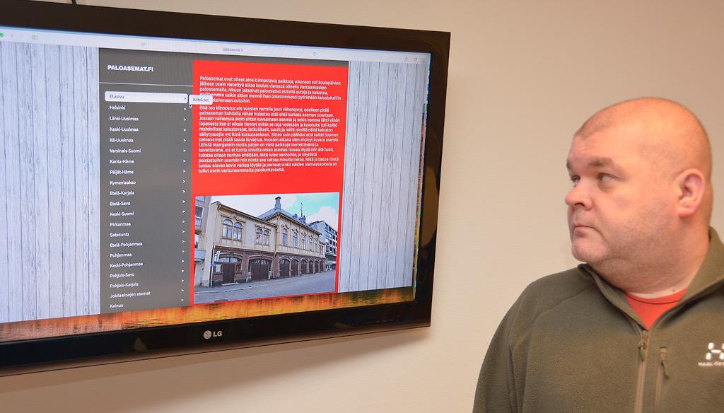 Tommi Nevalainen on tehnyt ison urakan. Verkkosivulta löytyy jo noin 900 paloaseman kuvat ja tiedot.