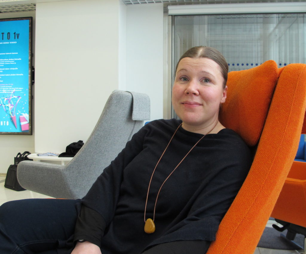 Johanna Franzén perusti viestintätyöryhmän, jonka avulla monien sopimuspalokuntien jäsenmäärä lähti hurjaan kasvuun.