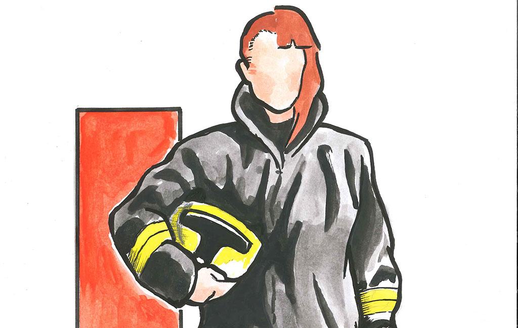 Pelastajakoulutukseen hakee vuosittain naisia yhdestä kahteen prosenttia.