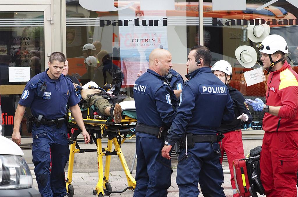 Turun joukkopuukotus tapahtui elokuussa 2017.