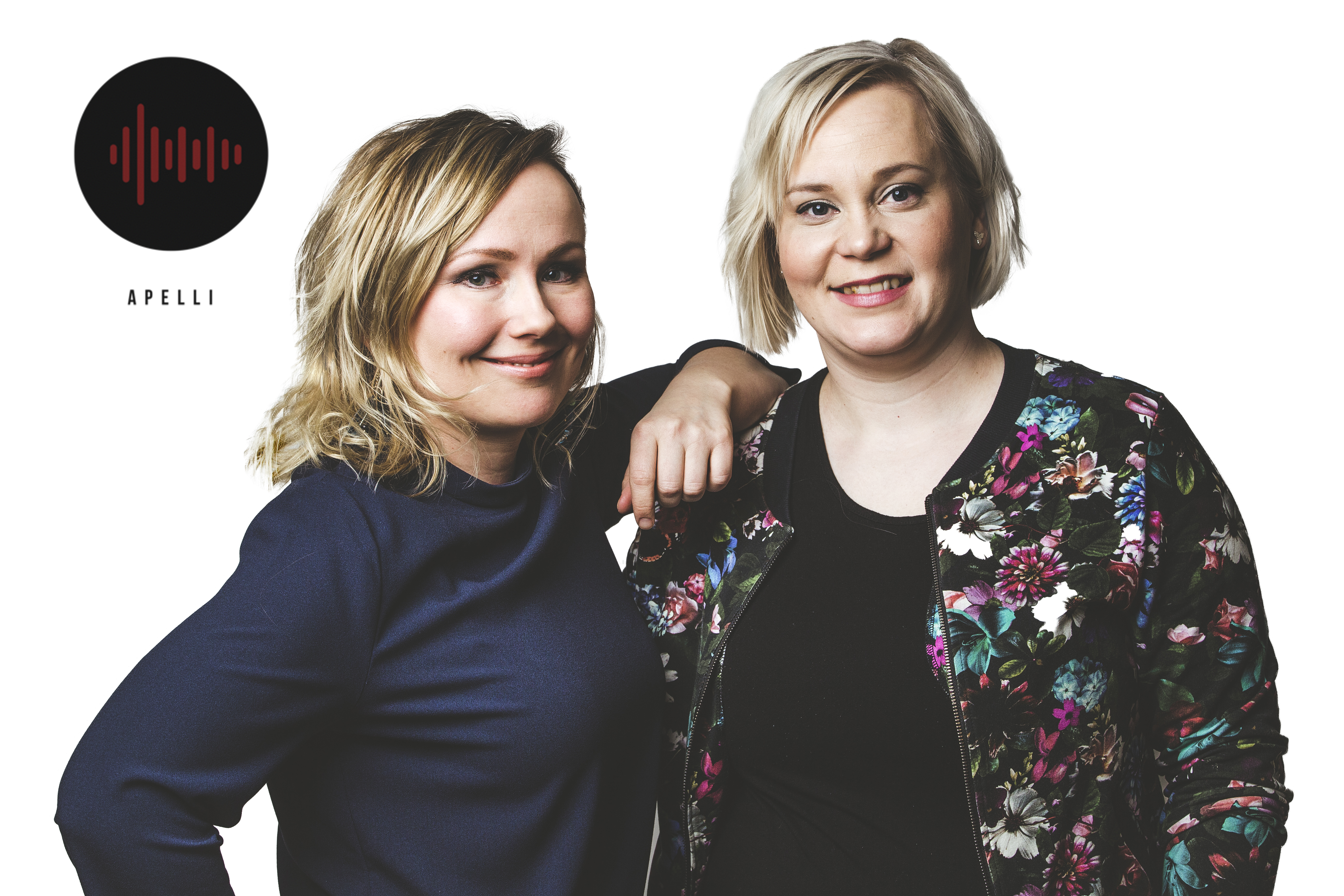 Kaisu Puranen ja Mira Leinonen.