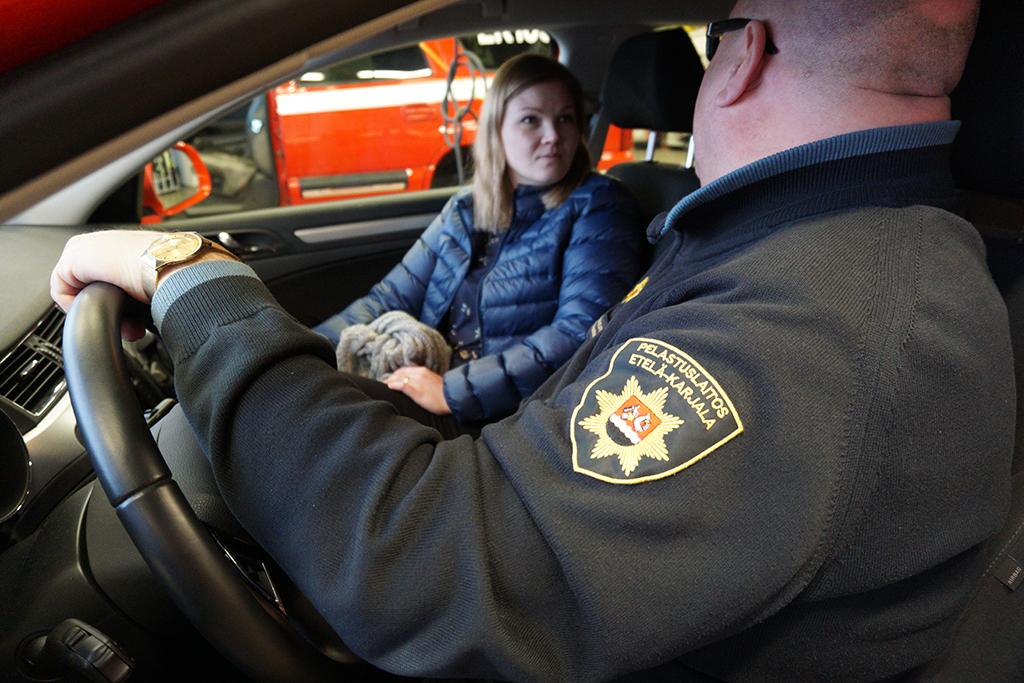 Etelä-Karjalan pelastuslaitoksen ja Eksoten yhteiset yhteiskäyntikokeilut ikäihmisten koteihin alkoivat syksyllä 2017.