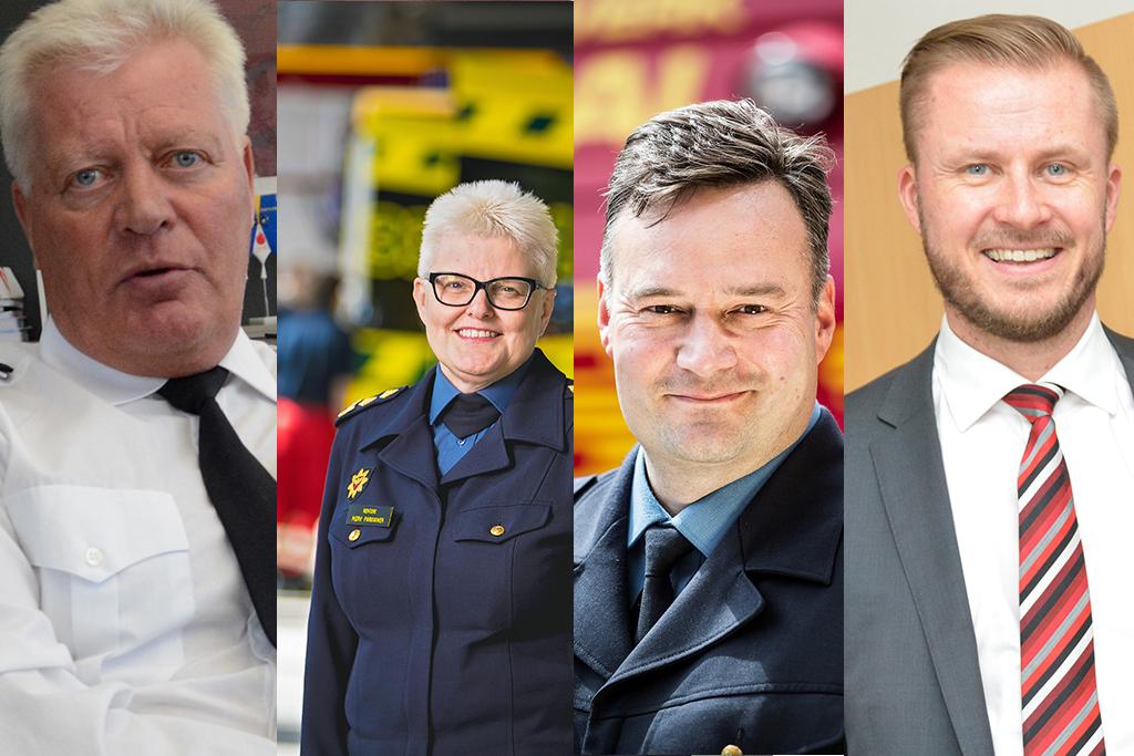 Pelastusylijohtajaksi haki 17 henkilöä, muun muassa Simo Weckstén, Mervi Parviainen, Mika Kontio ja Jouni Pousi.