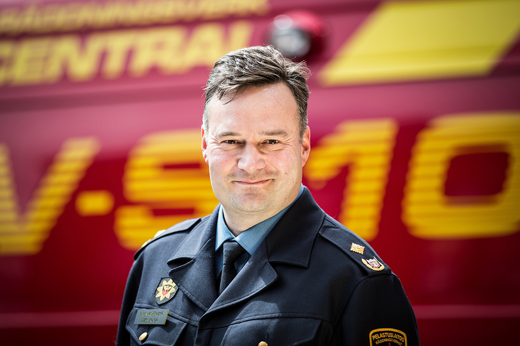 Varsinais-Suomen pelastuslaitoksen pelastuspäällikkö Mika Kontio voitti äänestyksen ylivoimaisesti.