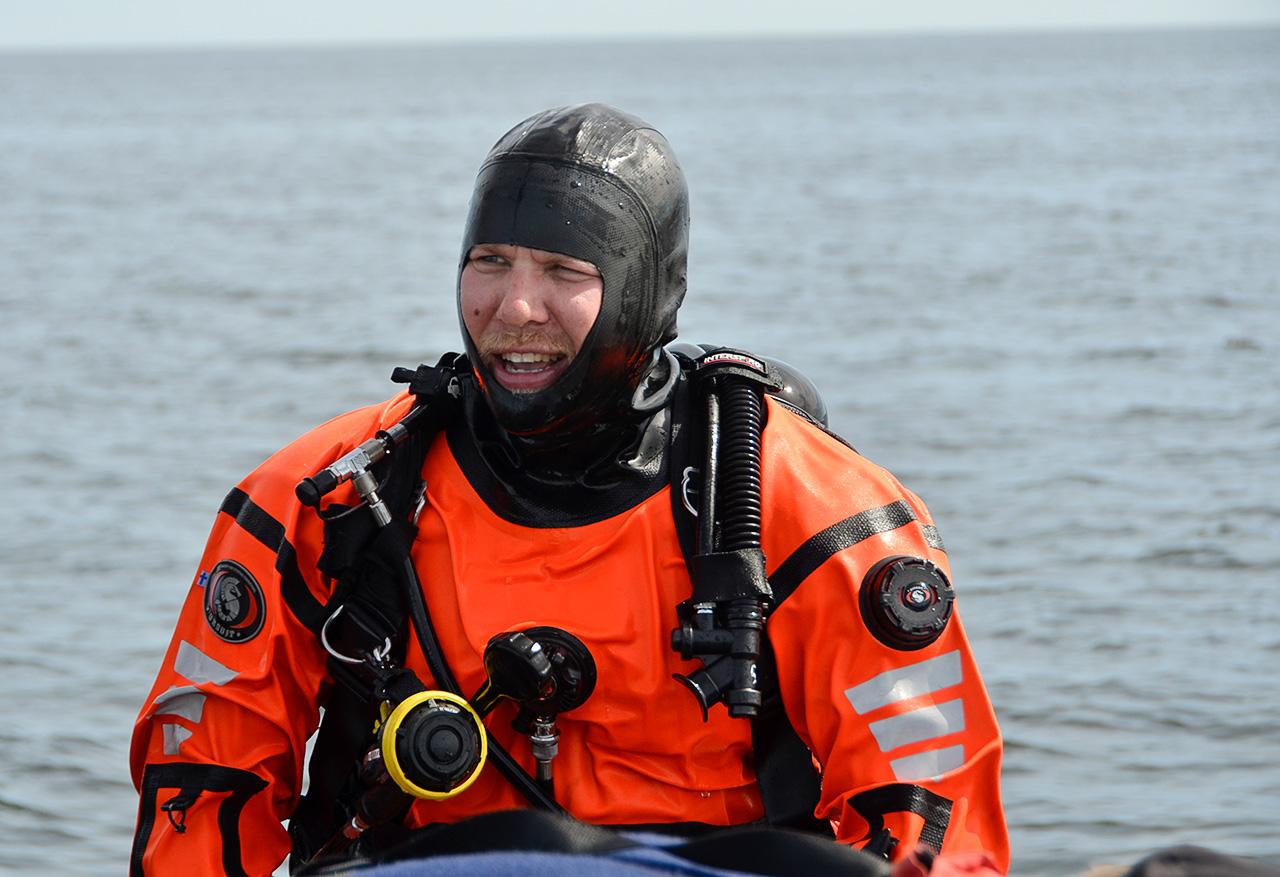 """""""Sukelluskouluttajan tehtävä meriolosuhteissa on tällä hetkellä parasta, mitä pelastusalalla voi tehdä"""