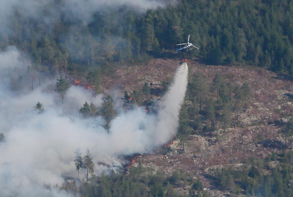 Ruotsin vuoden 2014 metsäpalo Västmanlandin läänissä oli suurin vuosikymmeniin.