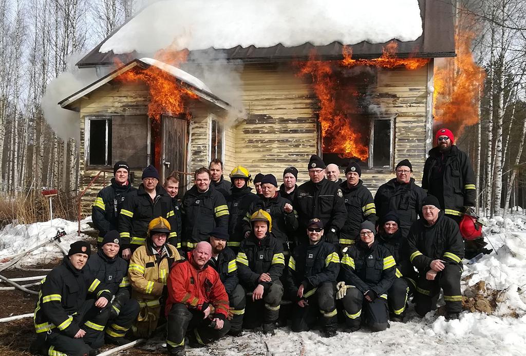 Lappajärvi on Vuoden sopimuspalokunta. Perustelujen mukaan hyvä palokuntahenki näkyy selvästi palokunnassa ja palomiesyhdistyksen toiminnassa.