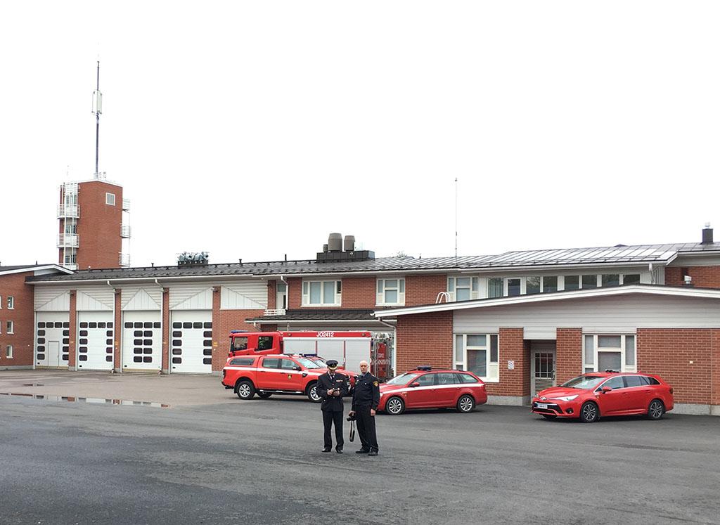 Paloasema vihittiin virallisesti käyttöön perjantaina 21. syyskuuta.