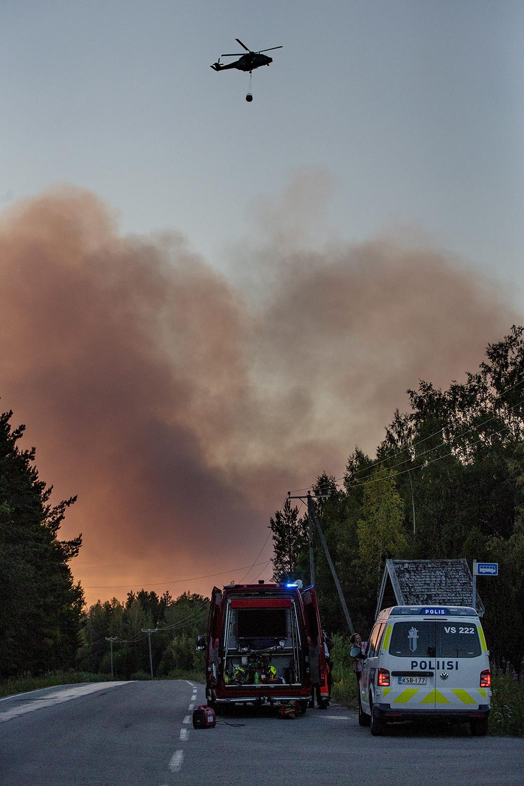 Pyhärannassa Varsinais-Suomessa riehui viime kesänä, heinäkuun puolivälissä laajin metsäpalo.