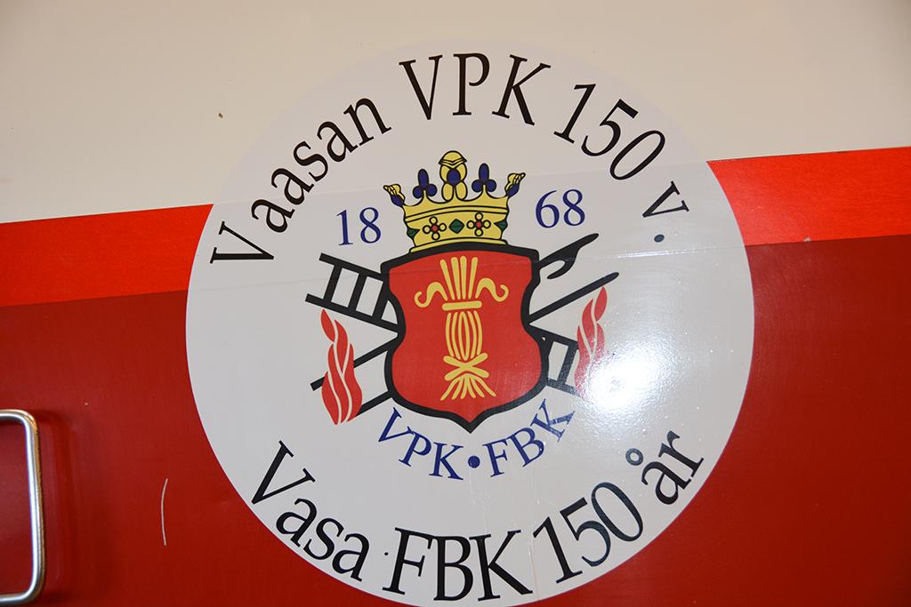 Vaasan VPK juhli 150-vuotispäiviään viime kesänä.