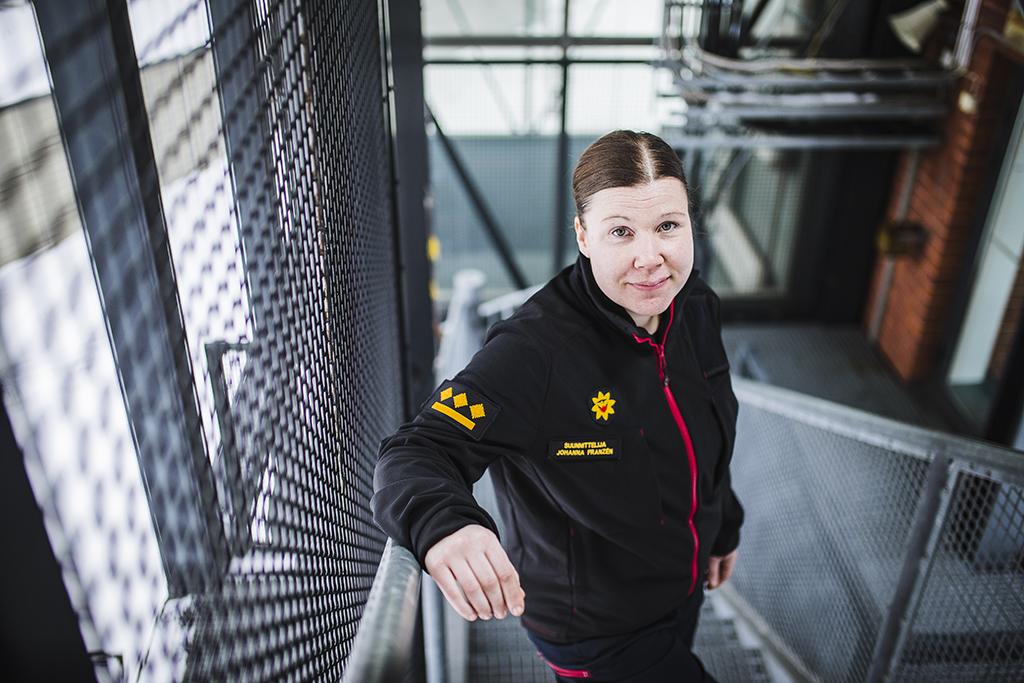 Johanna Franzén.