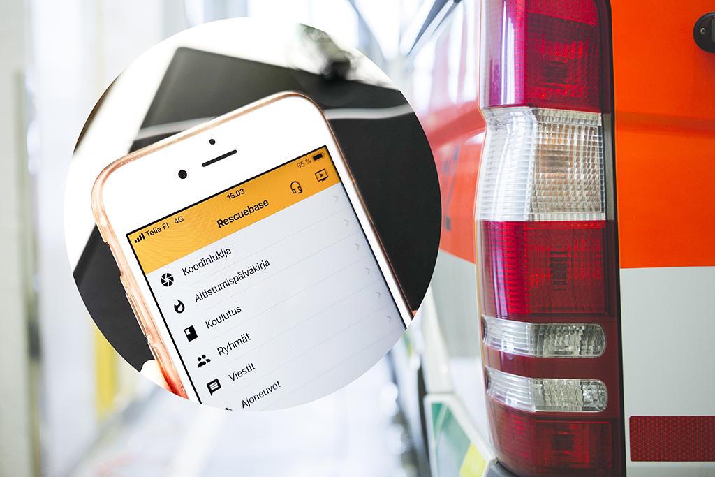 Sovelluksen avulla voi seurata paitsi altistumista, myös pitää kirjaa ajoneuvoista, kalustosta, tehtävistä, koulutuksesta ja niin edelleen.