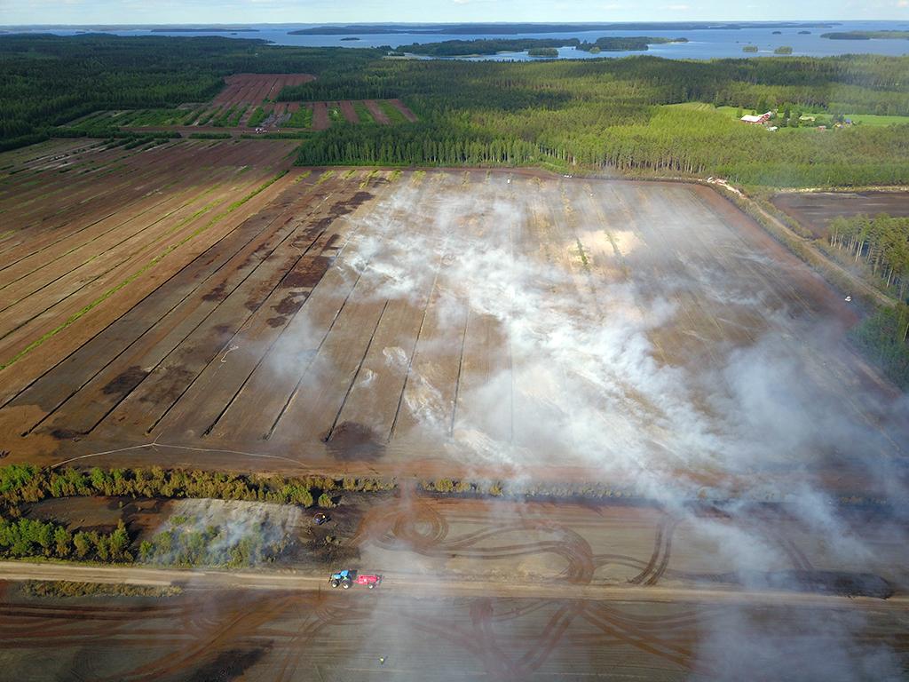 Pahimmmalta maastopalokesältä vältyttiin viime vuonna Etelä-Karjalassa paloi turvesuo kesäkuun alussa.