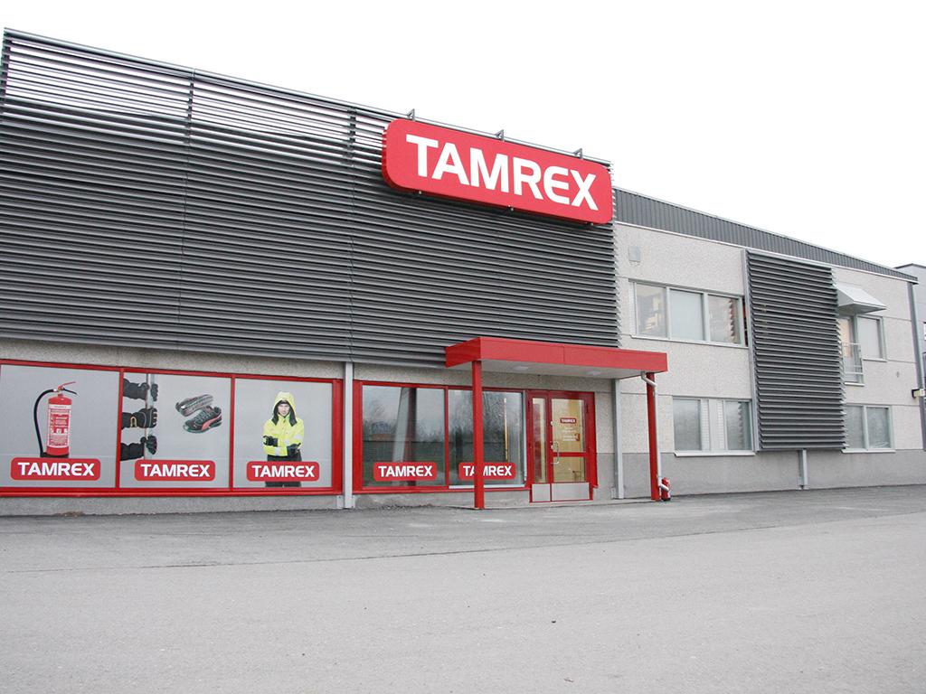 Tamrex Oy:lla on Suomessa neljä toimipistettä, joista yksi on Tampereen Lielahdella. Virossa on 31 toimipistettä.