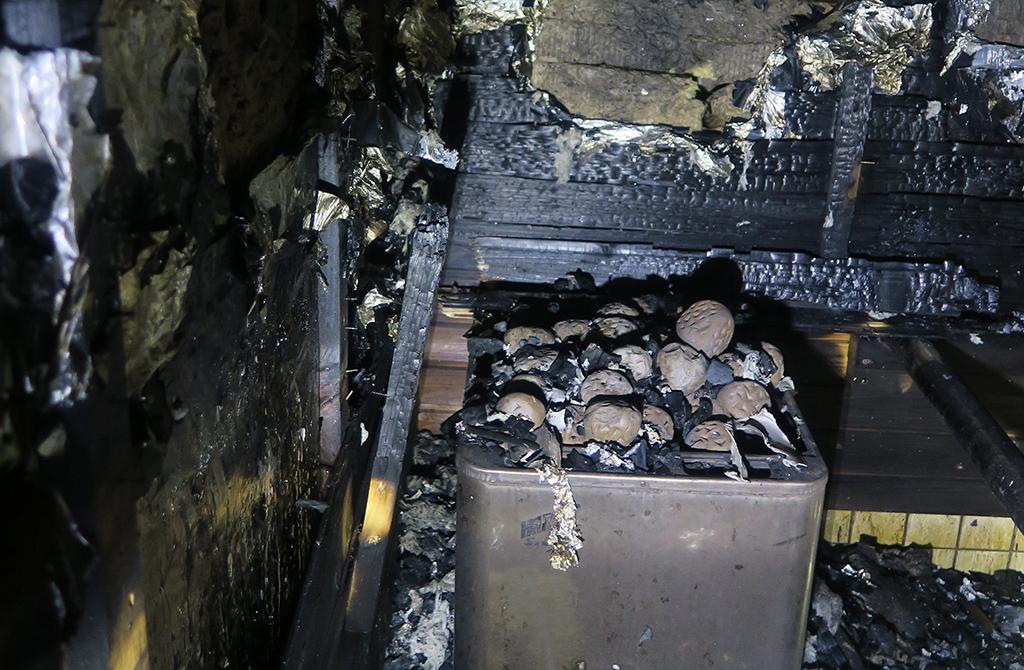 Palon epäillään alkaneen kiukaan päälle jätetystä muoviastiasta tai vastaavasta, josta se levisi seinäpaneeleihin ja lauteisiin.