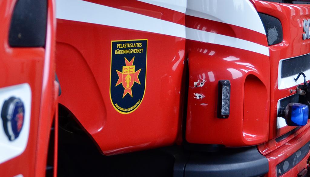 Onnettomuus tapahtui Pohjanmaalla. (Arkistokuva.)