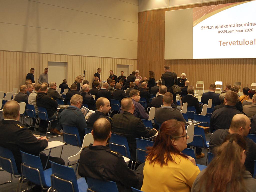 Ajankohtaisseminaari järjestettiin Tampere-talossa.