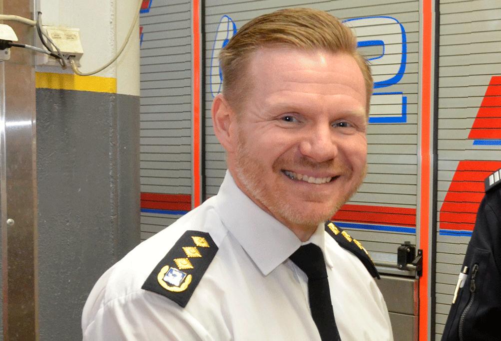 Jani Pitkänen on uusi pelastuskomentaja.