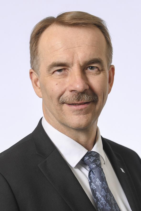 Kansanedustaja Arto Pirttilahti (kesk.) on SSPL:n uusi puheenjohtaja.