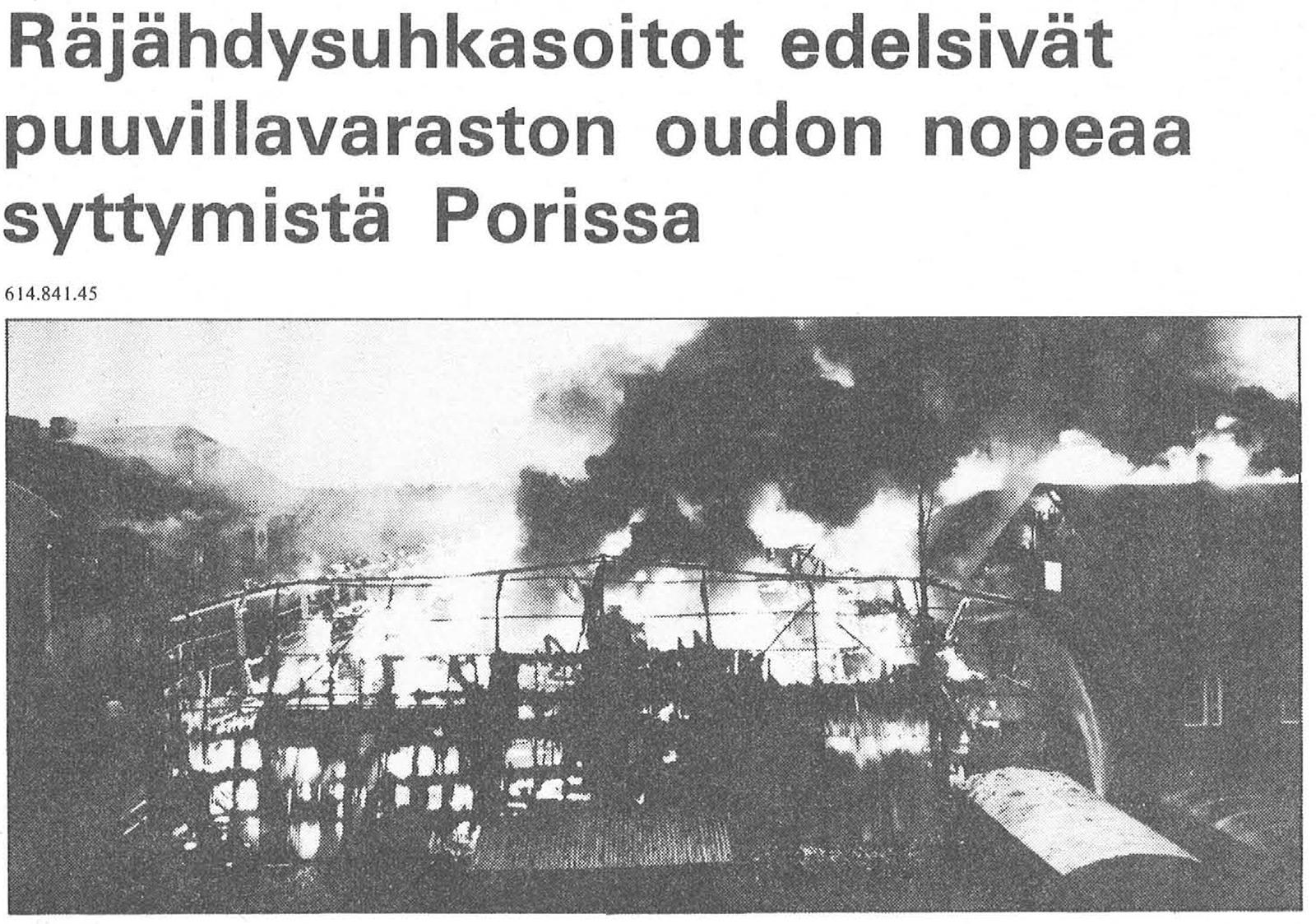 Kuvakaappaus: Pelastustiedon arkisto.
