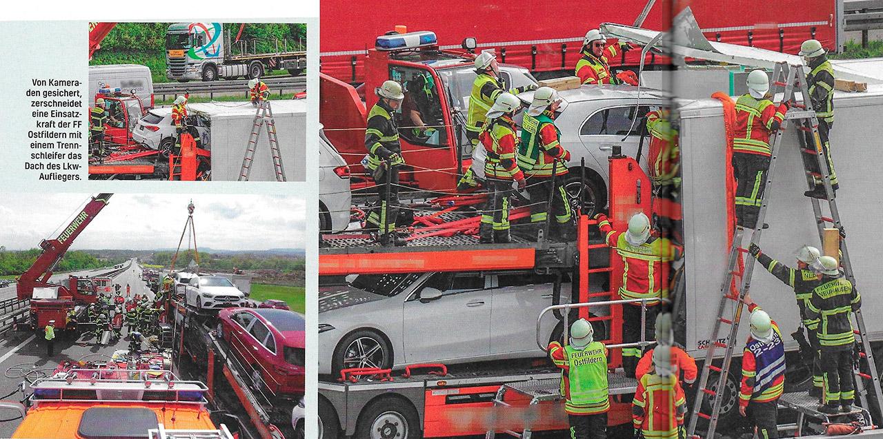 Kuvakaappaus: Feuerwehr-Magazin 12/2019.