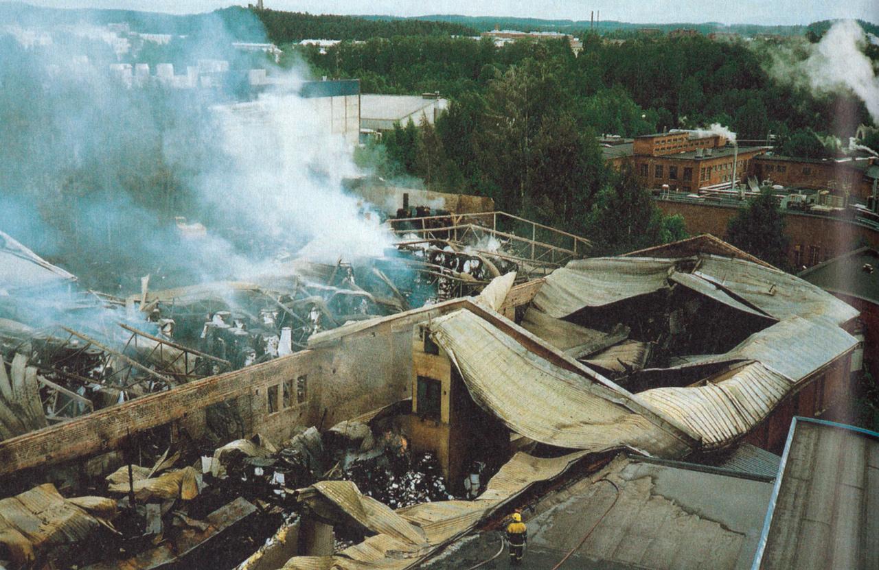 Kuvakaappaus: Palontorjunta 6/1997.