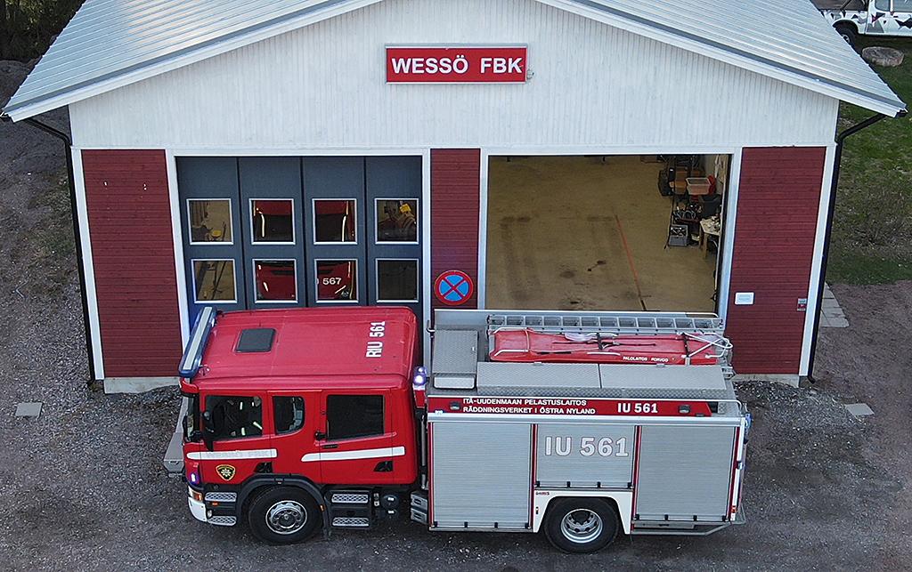 Uusi asema ja kalusto piristivät Wessöön VPK:n toimintaa. Viime vuonna tehtäviä oli 80.